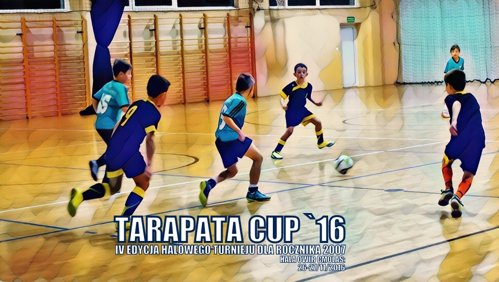 IV edycja turnieju halowego Tarapata Cup 2016 rocznika 2007