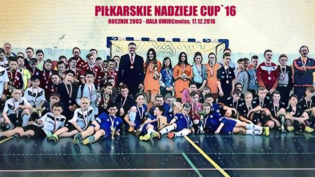 Piłkarskie Nadzieje CUP 2016 – turniej piłki nożnej rocznika 2003