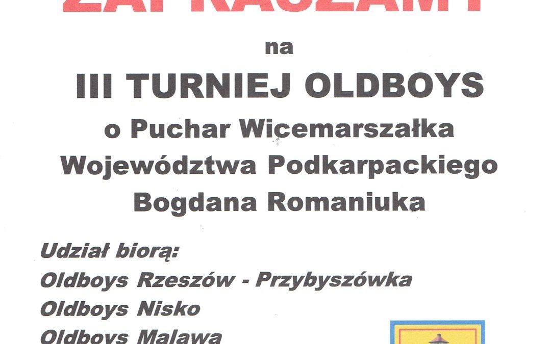 III  Turniej Oldboys o Puchar Wicemarszałka Województwa Podkarpackiego