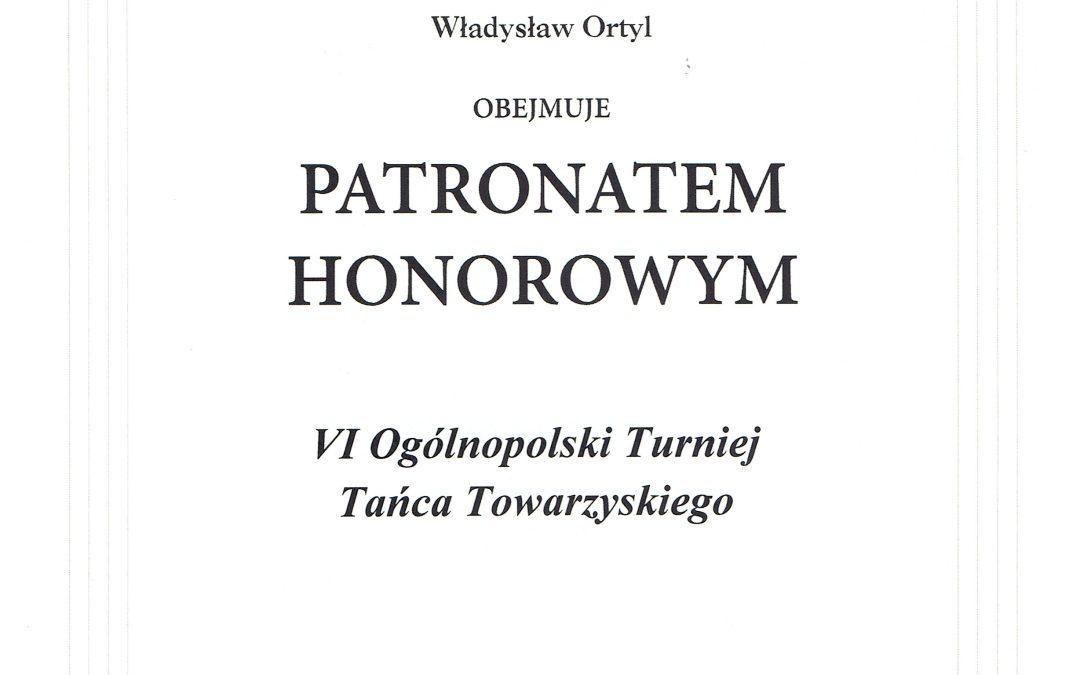 Patronat Honorowy -VI OTTT Cmolas 2018