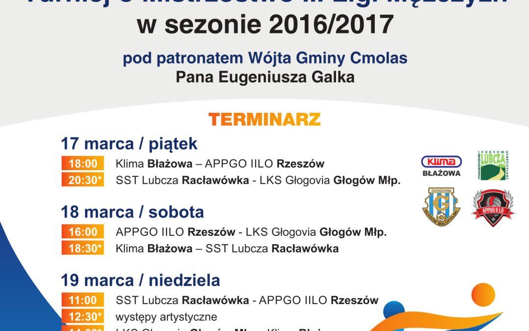 Finały III Ligi Mężczyzn w piłce siatkowej – Cmolas 2017
