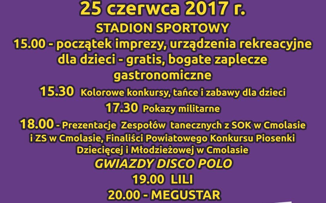 DNI CMOLASU 2017 – ZAPRASZAMY :-)