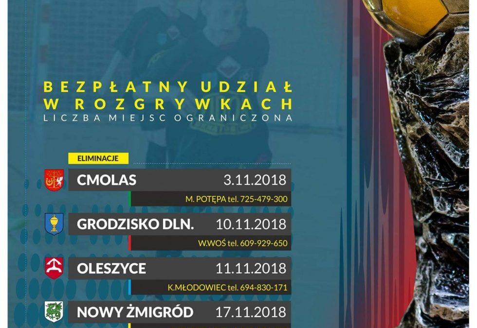 Eliminacje Mistrzostw Podkarpacia w futsalu zawodników do lat 12